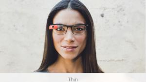 Google Glass Thin Titanium Frame
